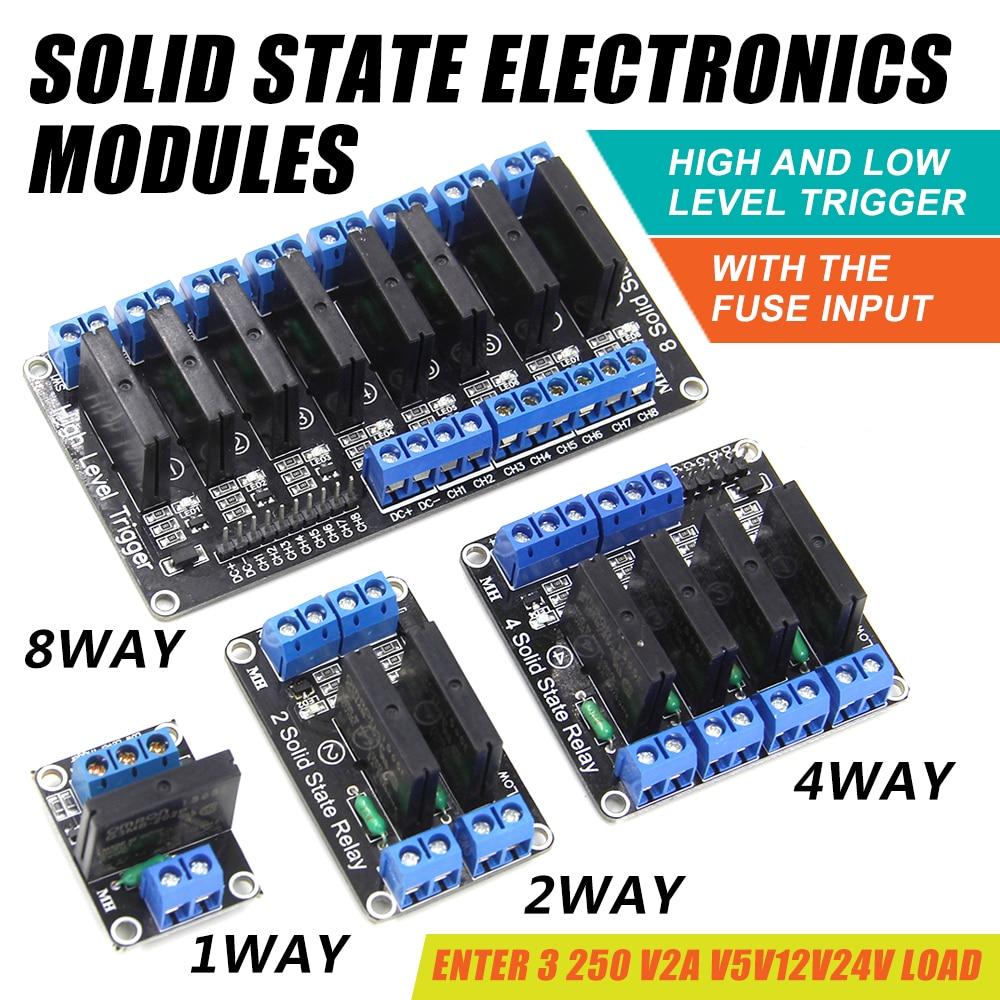 24V-380V 75A 250V SSR-75 DA Solid State Relay Module 3-32V DC To AC NEW M33