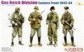 Dragão 6706 1/35 Das Reich divisão, Frente oriental 1943 - 44