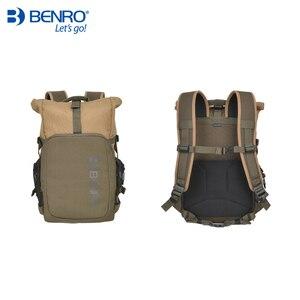 Image 4 - Benro incognito mochila dslr, bolsa de vídeo notebook, câmera de grande tamanho, macia, estojo de vídeo, capa de chuva