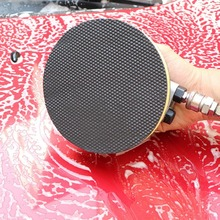 New Car Sponge Grinding Dish High Foam Cleaner Tool Car Glass Wash Cleaning Sponges Tools Applicator Pads Round Brush Pads