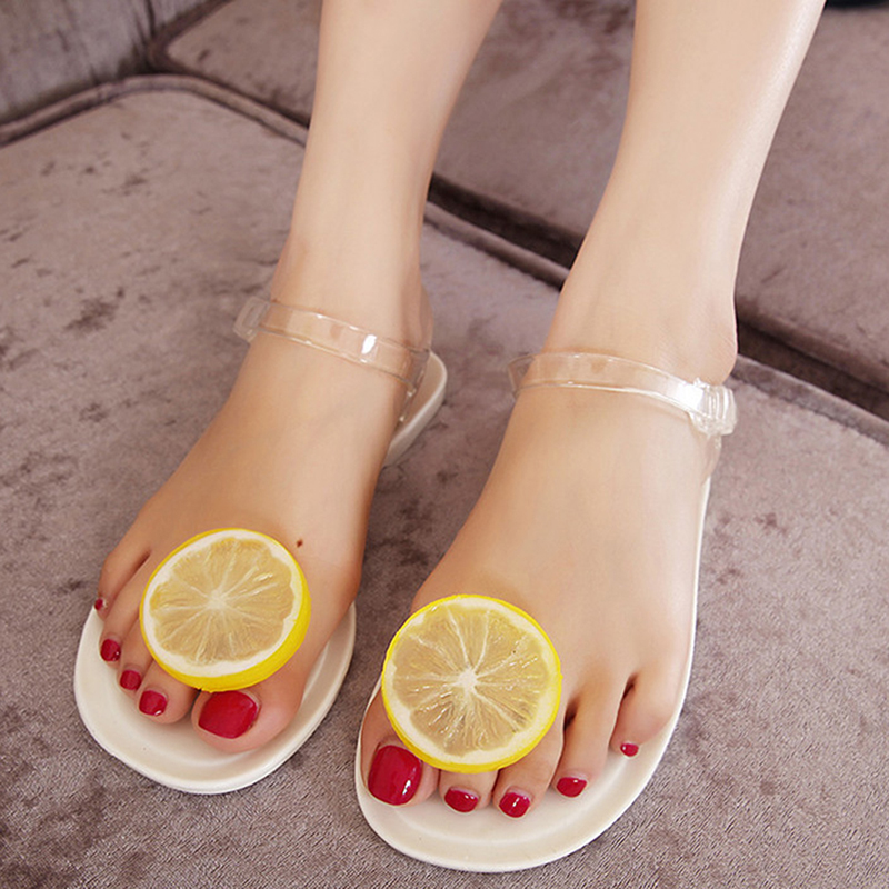 Women 2017 Sandalias Mujer Fruit Flip Flops Jelly Sandals Shoes Girls Summer Flat Beach Sandals Flip Flops summer women and men flip flops beach lovers flip flops flat shoes sandals sandalias mujer tx32
