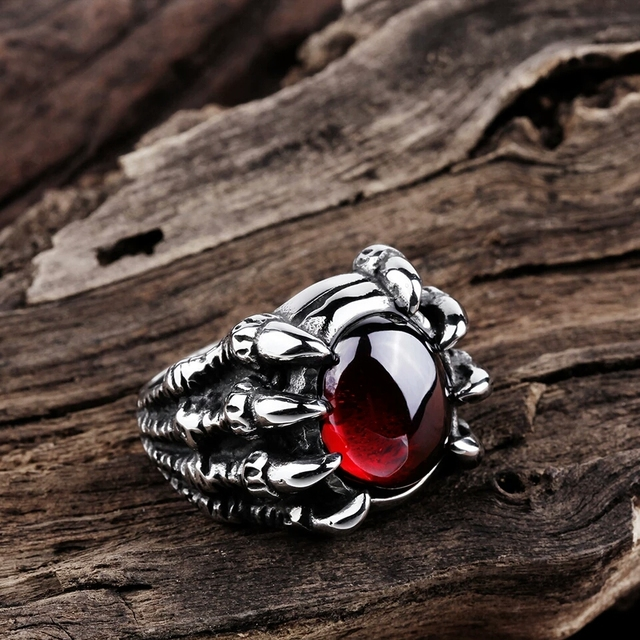 Punk Stainless Steel Ring