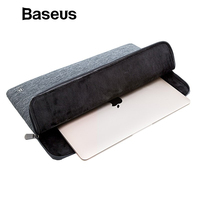 Baseus Laptop Bag for Macbook Air 13 Case Laptop Sleeve For Macbook Pro 13 15 Under 15inch Soft Handbag Computer Tablet Pouch