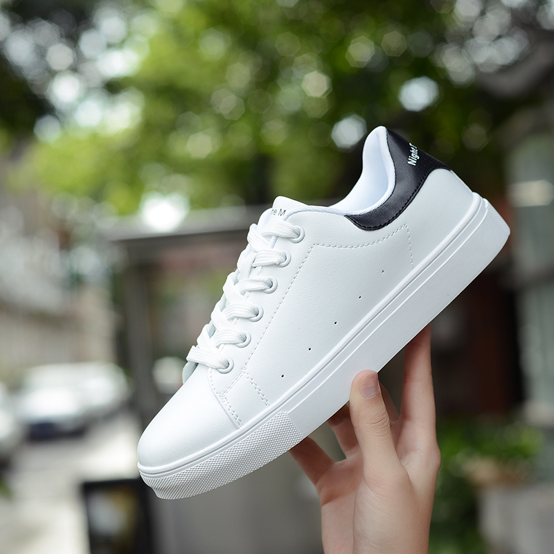 CUNDDIO zapatillas muje platform White Sneakers Men Casual