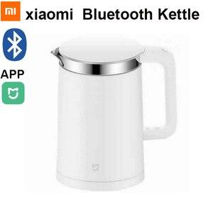 Image 1 - Xiaomi Hervidor eléctrico termostático Mijia, 1,5 l, pava inteligente con termostato, Control por teléfono móvil, aplicación Mi home, nuevo, Original