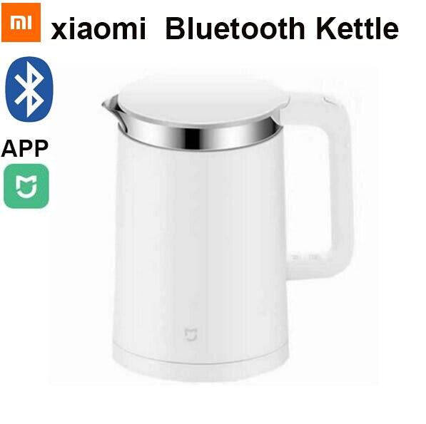 Xiaomi Hervidor eléctrico termostático Mijia, 1,5 l, pava inteligente con termostato, Control por teléfono móvil, aplicación Mi home, nuevo, Original