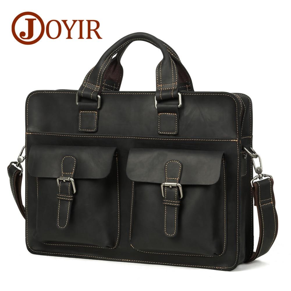все цены на 10% Genuine Leather Men Bags Handbags High Quality Business bags Male Tote Shoulder Bags Messenger Bags
