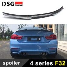 F32 F33 m4 Стиль углеродного волокна задний багажник крылья спойлер для bmw 4 серии f32 купе f33 КАБРИОЛЕТ 2 двери 420i 428i 435i