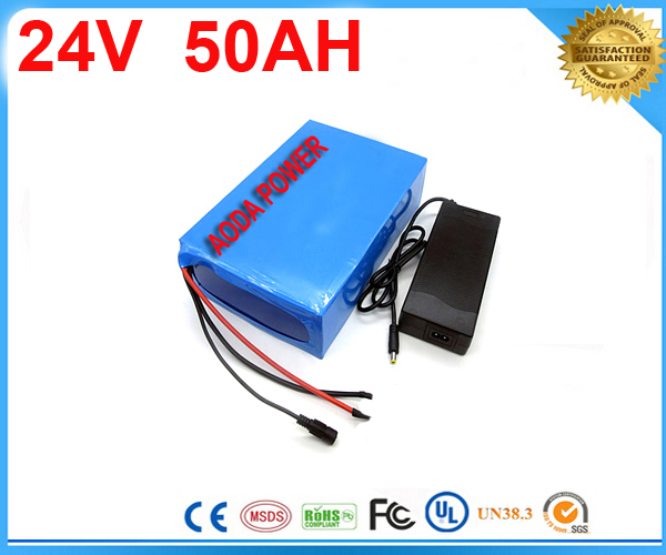 5pcs ebike lithium battery 24v 50ah lithium ion bicycle 24v 1000w electric scooter battery for kit electric bike with Charger liitokala 6s6p 24v 25 2v 12ah battery 18650 lithium ion battery portable backup power pcb 24v 25 2v 1a battery charger