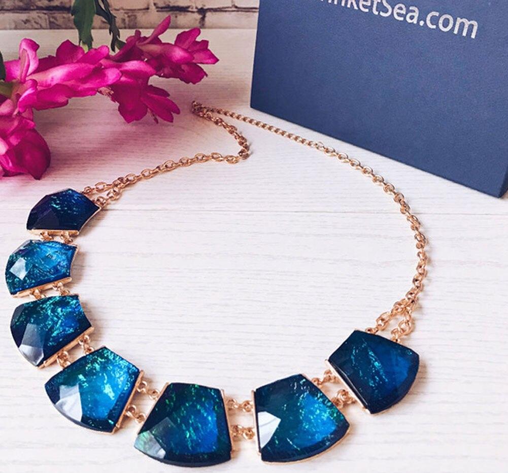 TrinketSea բազմաշերտ գույնի կլոր փայլող - Նորաձև զարդեր - Լուսանկար 6