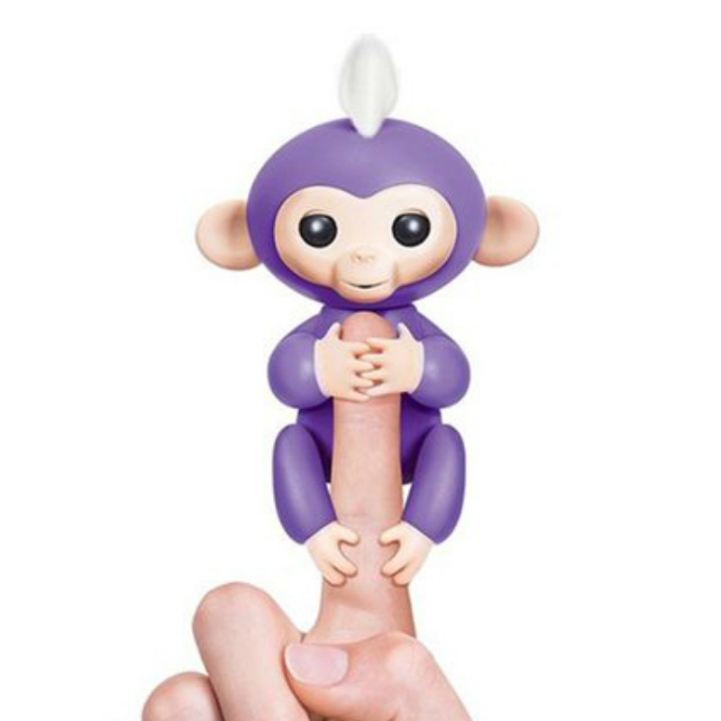 Fingerlings Baby Monkey Interactive Baby Monkeys Colorful Smart Toy Finger Monkeys Smart Induction Toys For Kids Christmas Gifts