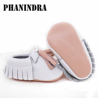 New Fringe Genuine Leather Baby Shoes Tassel High Quality Baby Boys First Walkers Fashion Shoes Baby