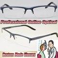 Al Mg alloy Optical blue Glasses frame Custom made optical lenses Reading glasses +1  +1.5 +2 +2.5 +3 +3.5 +4 .0 +4.5 +5 +5.5 +6