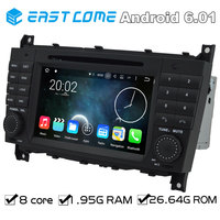 Pure Android 6.01 Car DVD for Mercedes Benz C Class W203 CLC Class CLC W203 CLK Class W209 With Octa Core Radio Bluetooth