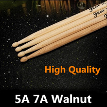 Fleet American Walnut Drumstick 5A Drum Kit High Quality Export Accessories Parts Musical Instruments More Many Pro