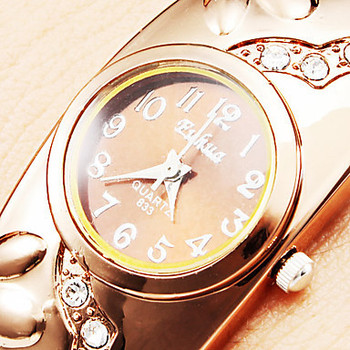 Gold women's watches bracelet watch women watches luxury ladies watch bracelet wrist watch 1