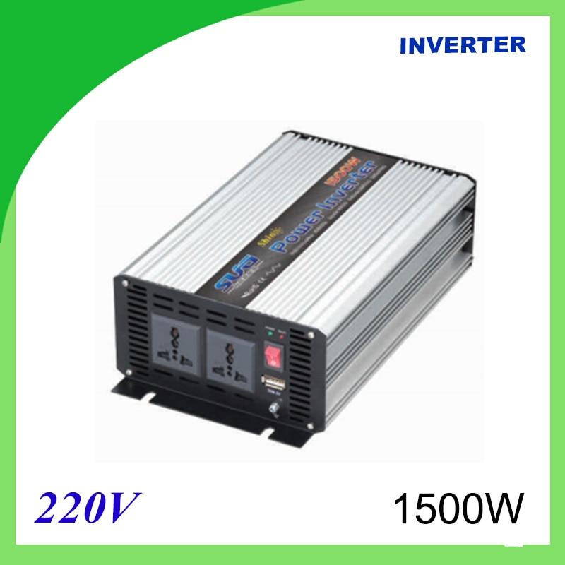 1500W Voltage Converter To 220V Modified Sine Wave Power Inverter 12V/24V 220V DC 5000w voltage converter to 220v modified sine wave power inverter 12v 24v 220v dc