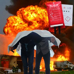 2m 2m common household and factory fire equipment fire blanket help themselves escape blanket fireproof material.jpg 250x250