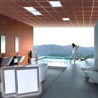 Бесплатная доставка 72 Вт LED 600x600 свет панели, 600*600 светодиодные панели потолка свет теплый белый/холодный белый с LED Driver