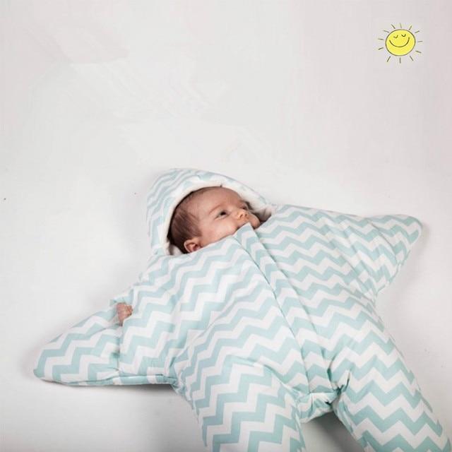 Cute star newborn sleeping bag baby blanket winter bolsa infantil menina sac de couchage enfant bolsa infantil menina kids gift