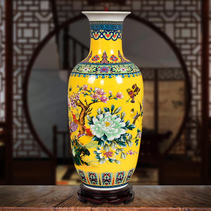 Jingdezhen Ceramics Simple European Style Large Vase