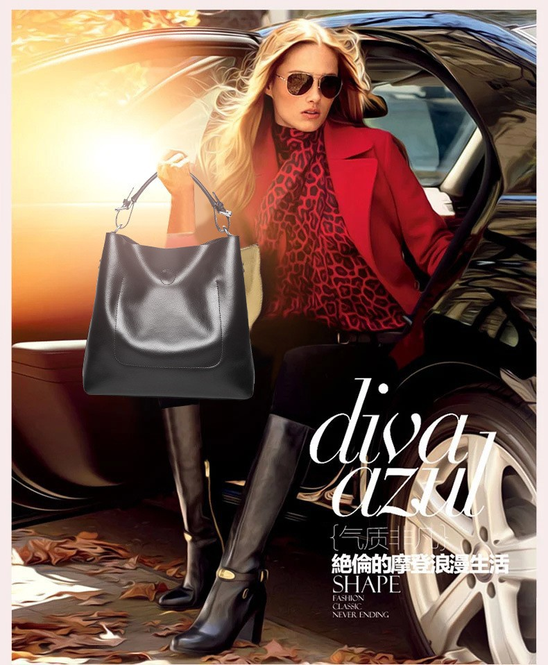 Ladies Composite Handbags Woman Fashion Pu Leather Bags Crossbody Bag For Women Fashion 2015 Designer High Quality Bags BH270 (5)