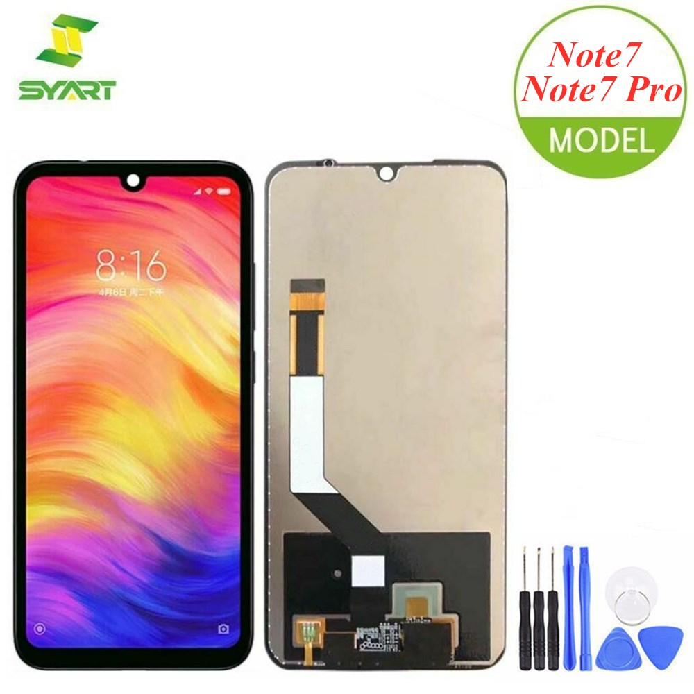 For Xiaomi <font><b>Redmi</b></font> <font><b>Note</b></font> <font><b>7</b></font> <font><b>Pro</b></font> <font><b>LCD</b></font> Display Touch Screen Digitizer Assembly Replacement For <font><b>Redmi</b></font> Note7 <font><b>Pro</b></font> 6.3