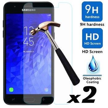 For Samsung Galaxy J3 2018/J3 Eclipse 2/J3 Orbit/J3 Achieve/Express Prime 3/Prime 2/Sol 3/Aura 2xTempered Glass Screen Protector