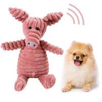 Hund Kauen Spielzeug Sound Spielzeug Für Kleine Große Hunde Biss Beständig Hund Quietschende Ente Spielzeug Interaktive Squeak Welpen Plüsch Spielzeug liefert