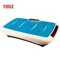 1002 Обновление версии ультратонкие Crazy Fit массаж медицинского оборудования для похудения аэробные тренировки вибрации Мини power plate