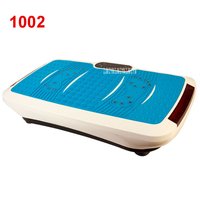 1002 upgrade version Ultrathin Crazy Fit Massage Health Slimming Equipment Aerobic Fitness Vibration Exercise Mini power plate