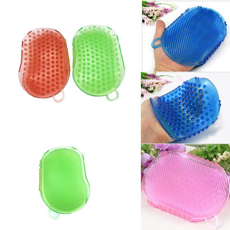 Body Massager Bath Brush Massage Glove Anti cellulite Silicon Exfoliater Shower Multifunctional Meridian Women necessary пак ц pack cellulite