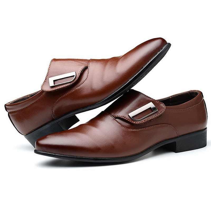 Năm 2020 Nam Anh Kinh Doanh Phù Hợp Với Nam Nam Đẹp Trai Giày Oxford Trắng Chỉ Xã Hội Giày