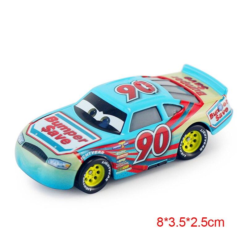 Дисней Pixar Тачки 2 3 Молния Маккуин матер Джексон шторм Рамирез 1:55 литье под давлением автомобиль металлический сплав мальчик малыш игрушки Рождественский подарок - Цвет: 90H 3.0