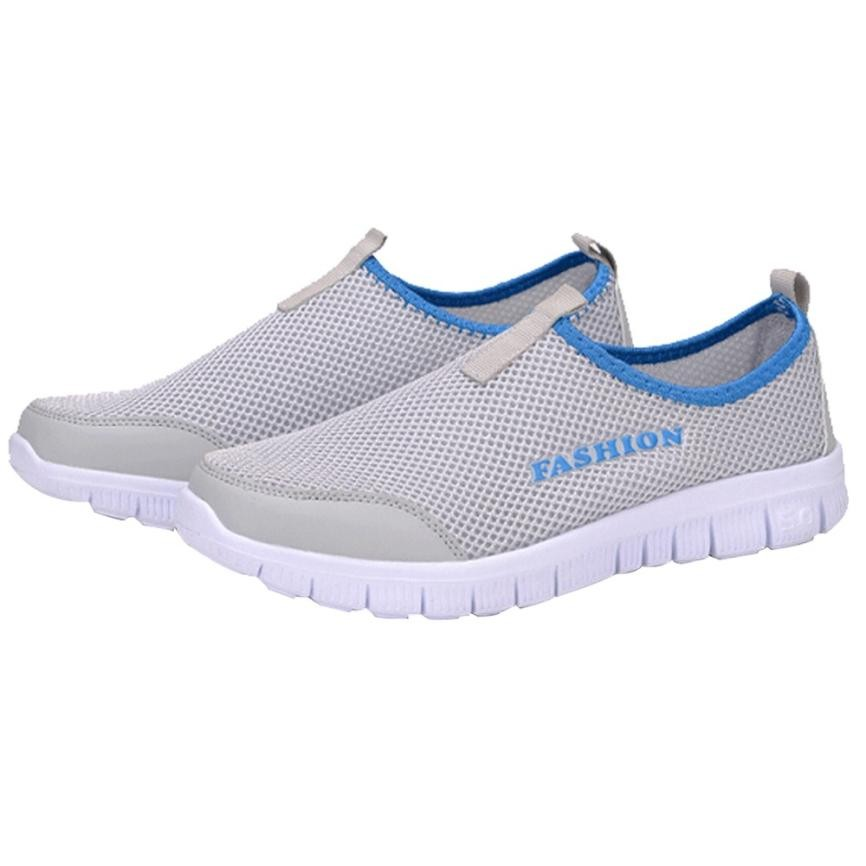 Femmes Gris Femme Maille Dropshipping Tenis Sneakers Chaussures Casual Sport rouge Flate rose Respirant Feminino wPHCqgrUw