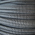 Free Shipping 2*0.75mm Antique Braided Woven Fabric Lamp Cable vintage Light Electric Flex Wire Retro pendant lamp cord