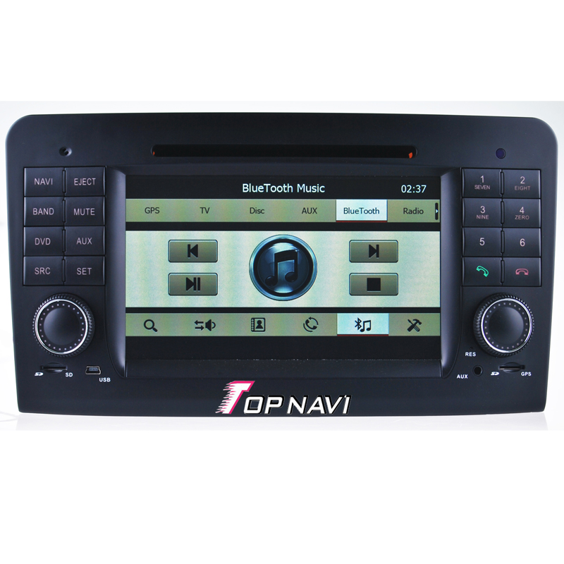 "Free Shipping 7"" Wince Car Stereo For  ML W164(2005-2012) Benz GL X164(2005-2012) With Radio Bluetooth Free Map"