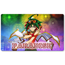 Many - Rockin' the Paradise - Yu-Gi-Oh! Playmat Board Game Mat Table Mat for YuGiOh Mouse Mat foreigner rockin at the ryman