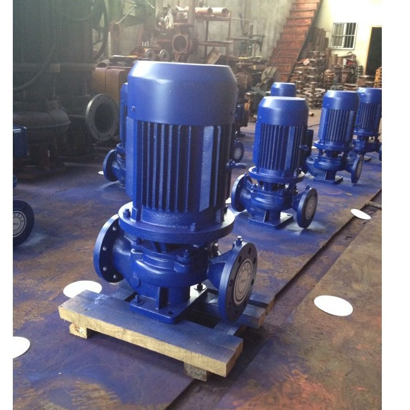 2016 new vertical inline circulation pump 0.75kW vertical inline pump supplier