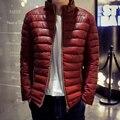 16 Classic Marca de Moda de Los Hombres Calientes Chaquetas Plus Tamaño 4XL M diseño Hombre hombres chaqueta Abrigo de invierno Cómodo de Alta Calidad Hacia Abajo chaqueta