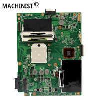 Original Für ASUS K52N A52N X52N REV 2,1 laptop motherboard DDR3 buchse S1 100% vollständig Getestet