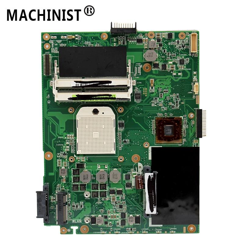 Original For ASUS K52N A52N X52N REV 2.1 Laptop Motherboard DDR3 Socket S1 100% Fully Tested
