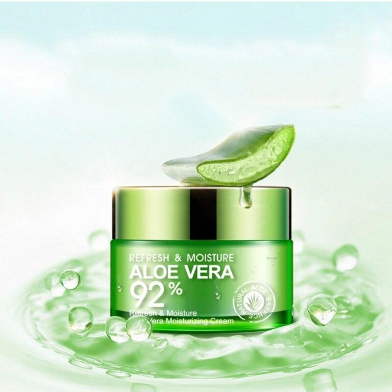 Gesicht Aloe Vera Gel Haut Reparatur Refresh Feuchtigkeits Serum Creme Feuchtigkeitsspendende Pflegende Schrumpfen Poren Ölsteuer Creme