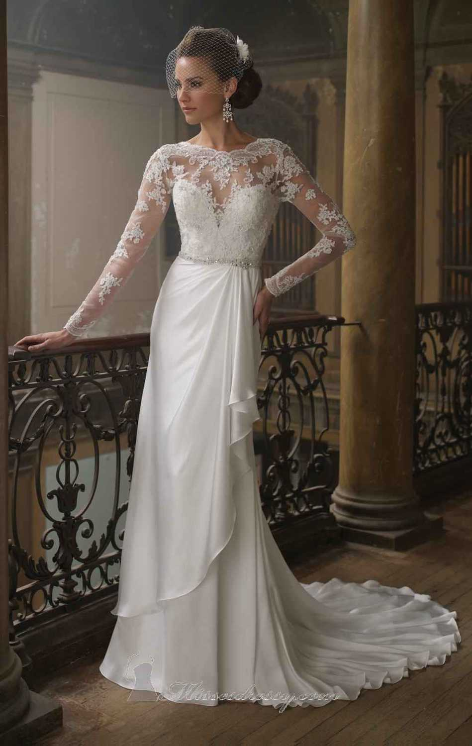 fitted lace wedding dress Discount Fitted Lace Wedding Dress Open Back Fitted Lace