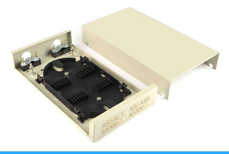 10 pièces FTTH Boîte avec 24 Ports pour 24core Tresse/Boîte de Distribution De Fiber Optique/FTTH/FTTH boîte de distribution