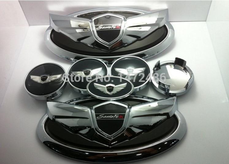 Free Shipping Fit For Kia Hyundai Sorento Santa Fe Ix Genesis Style D Emblem Car on Kia Sorento Exterior