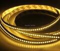 Free envio gratuito de alta densidade fita led 240 leds/m única linha dc24v 3528 smd branco quente 5 m led tira flexível