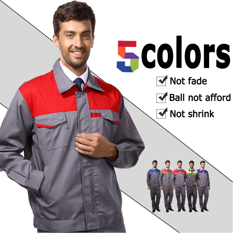 b307e345449 Wholesales long sleeve men work wear coveralls Workplace Safety Supplies  tactical safety uniforme special clothings workwears-in Safety Clothing  from ...
