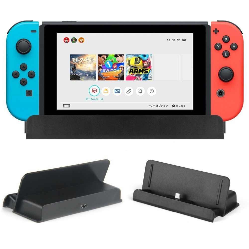 9548c569672f52 2017 USB di Tipo C Adattatore di Ricarica Stazione Del Caricatore Del  Basamento per Nintendo Interruttore