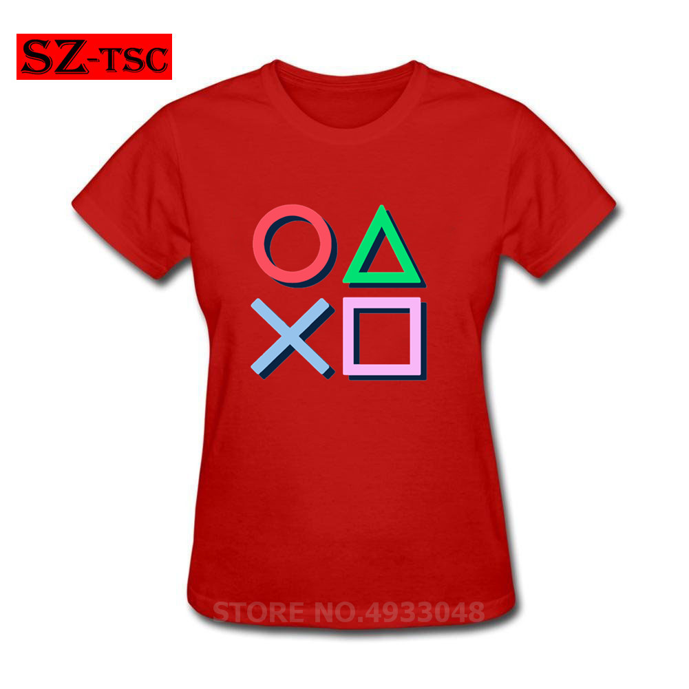 Video Game Playstation T-Shirt Star Wars Tshirt Women T-Shirt Art Designer Clothing Summer Tops 100% Cotton Tee Unique Artist image